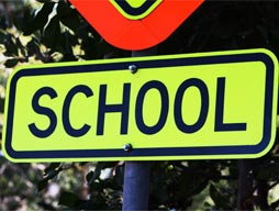 PBC School Pick-up and Drop-off Zones